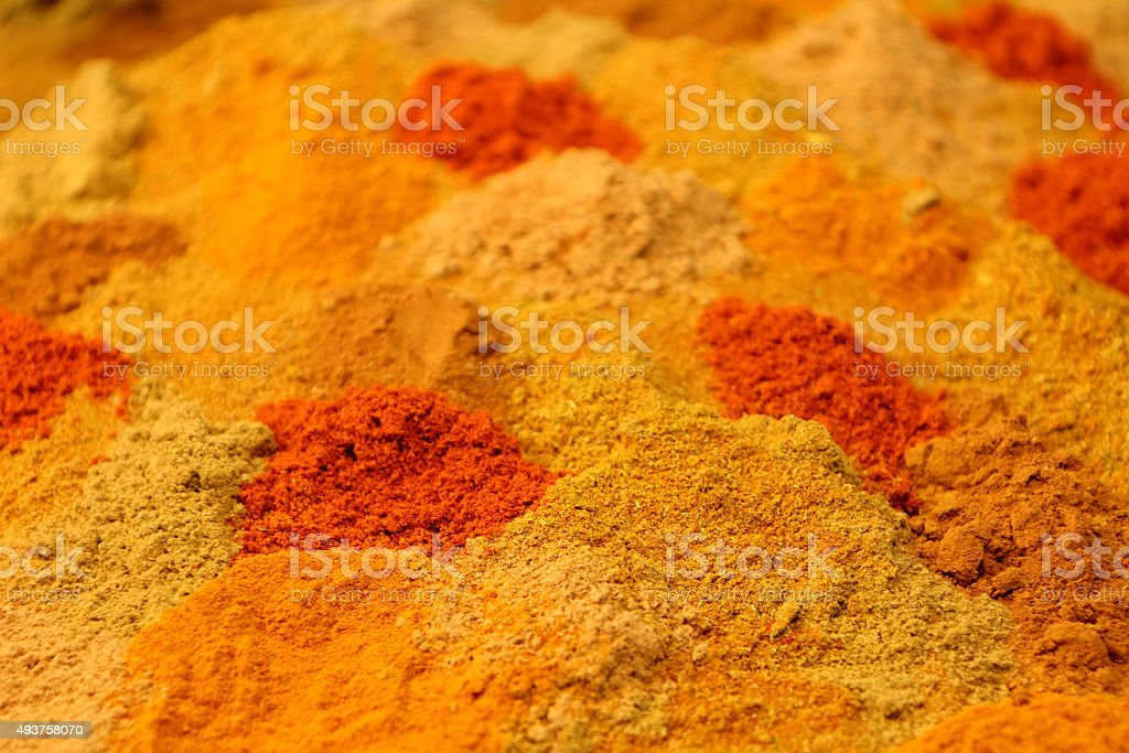 Spicy background stock photo