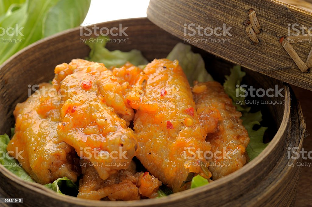 Spicy Chicken royalty-free stock photo