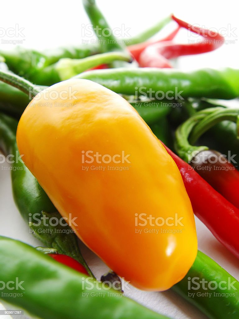 Spicy Chillies stock photo