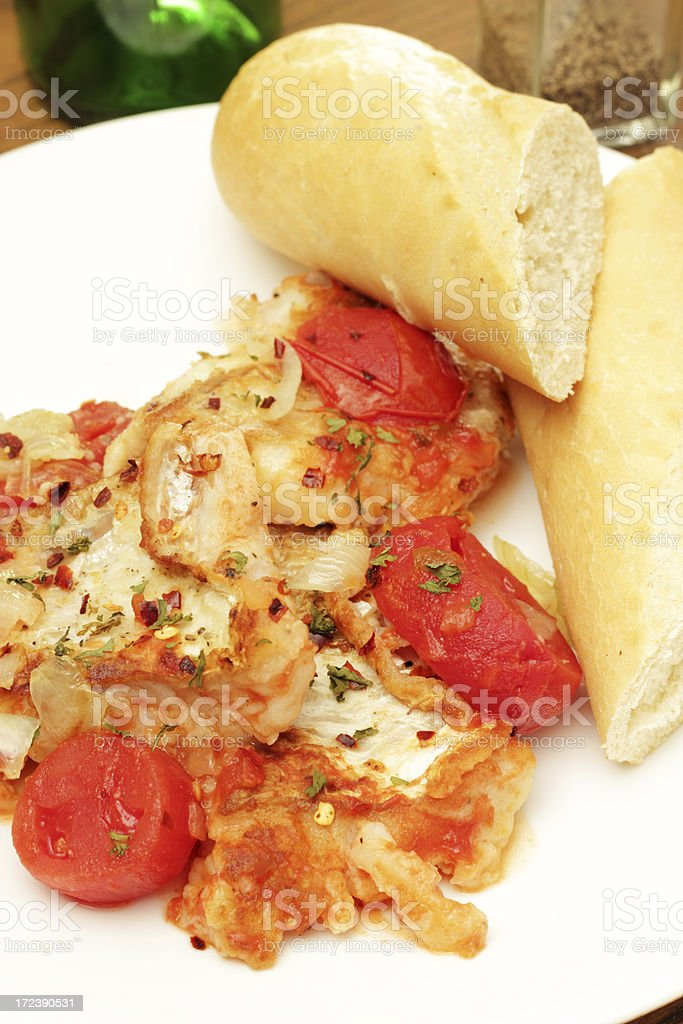 Spicy Fish Stew royalty-free stock photo