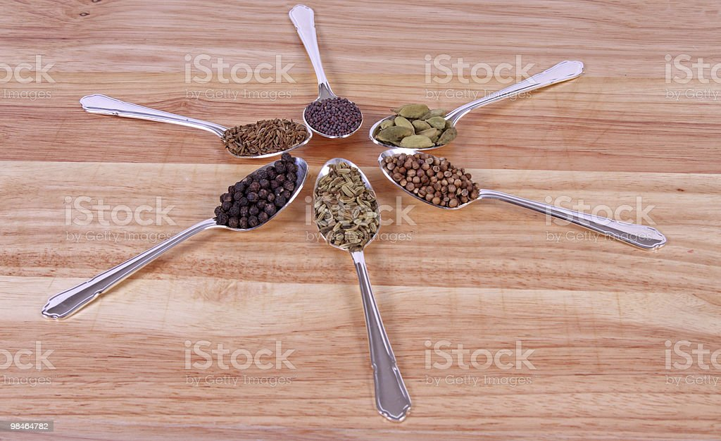 Spicy Flavours royalty-free stock photo
