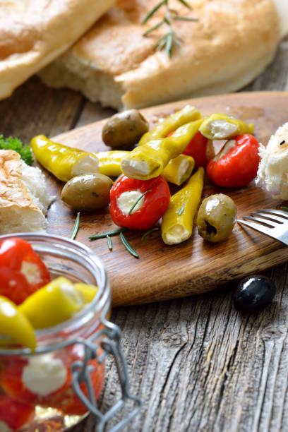 Würziger griechischer Snack – Foto