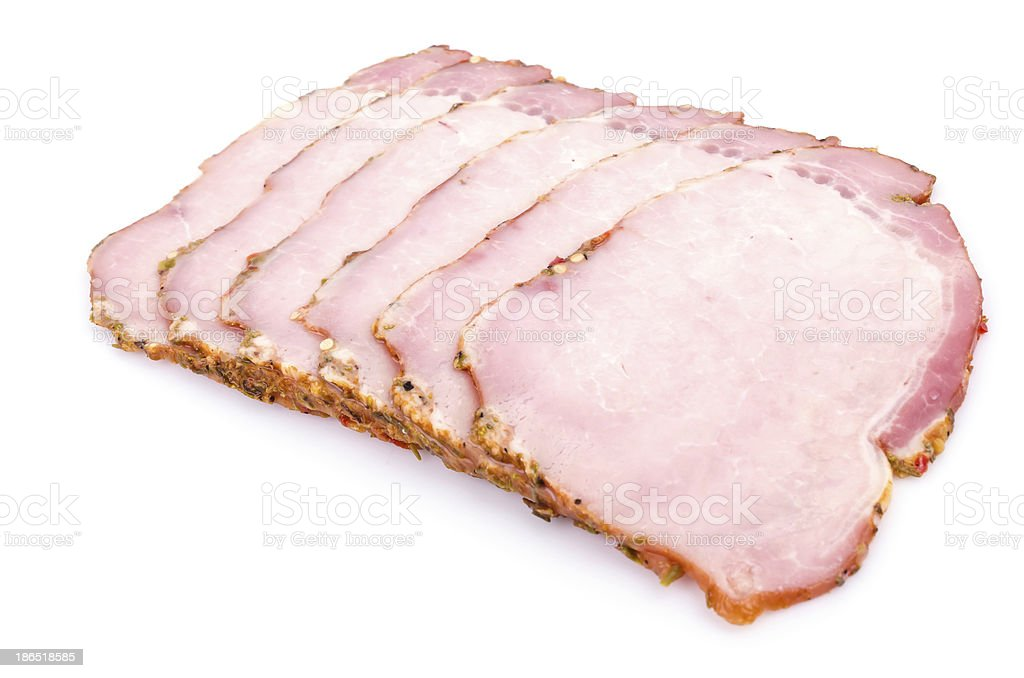 Spicy ham royalty-free stock photo