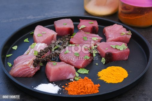 istock spicy hot Kerala fish curry ingredients 666199872