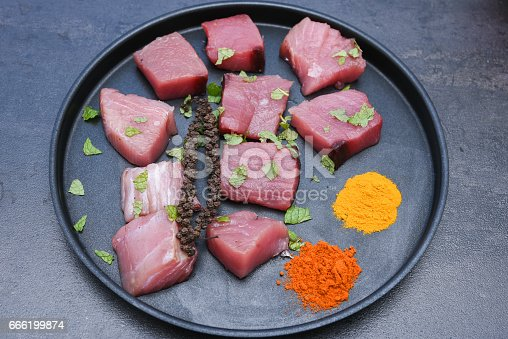 istock spicy hot Kerala fish curry ingredients 666199874