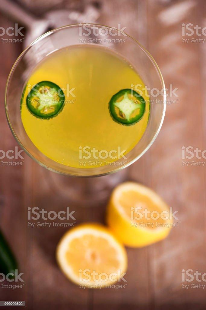 Spicy Martinis stock photo