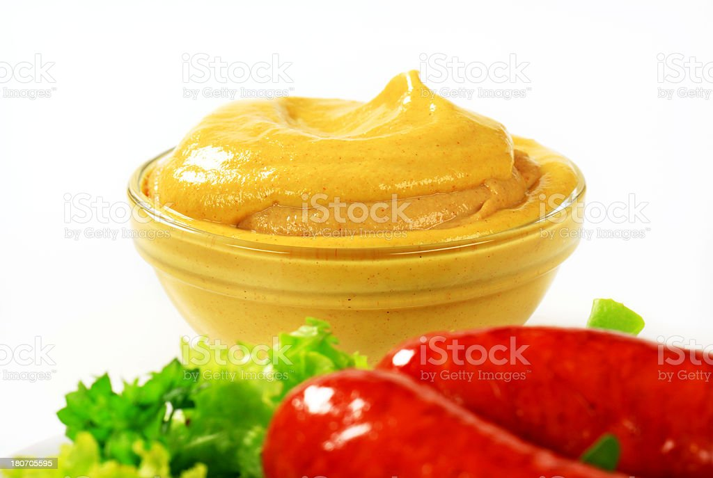 spicy mustard royalty-free stock photo
