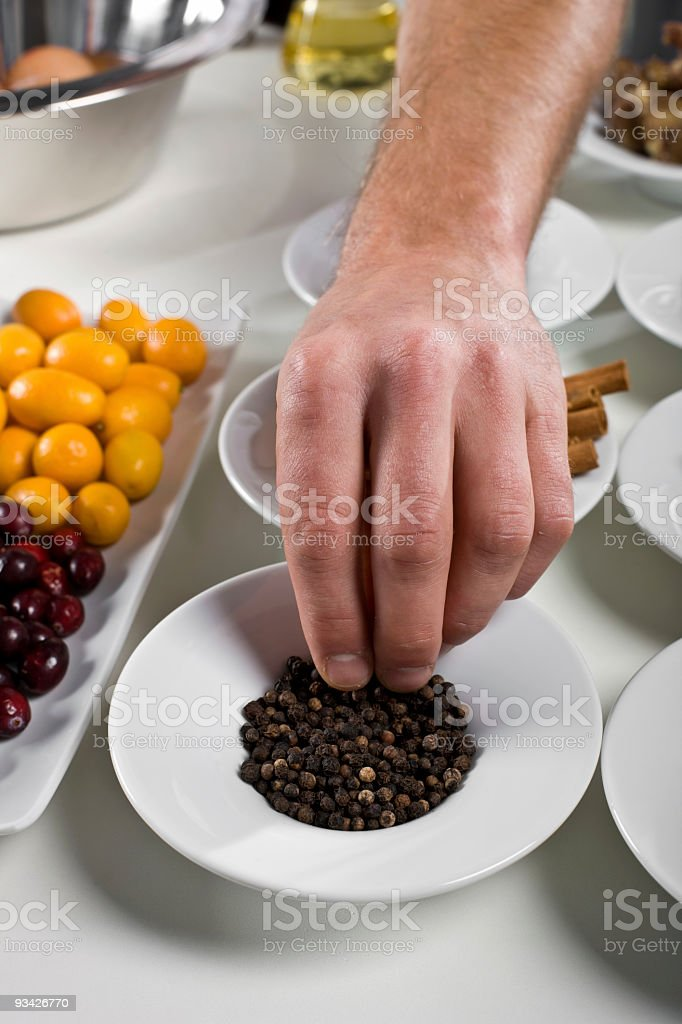 spicy peppercorn royalty-free stock photo