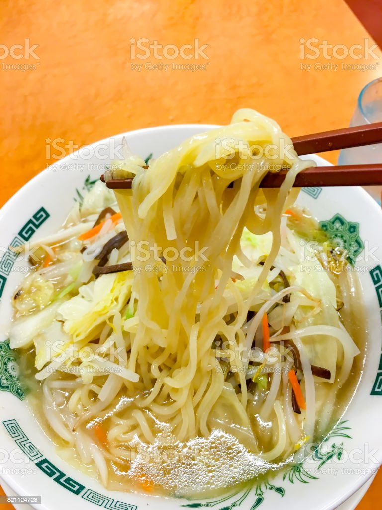 Spicy Pork Ramen Is Well Representative Of The Japan Stock