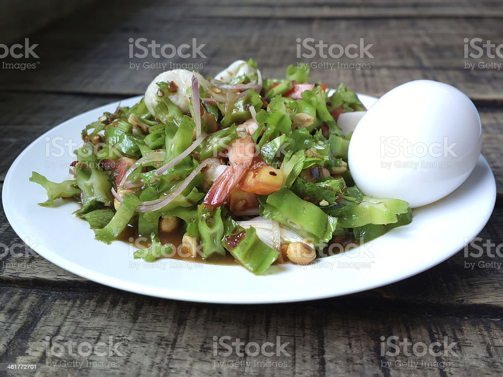 Spicy Salad : Winged Bean stock photo