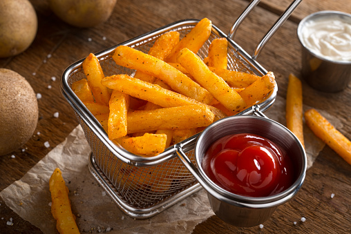Spicy Seasoned French Fries