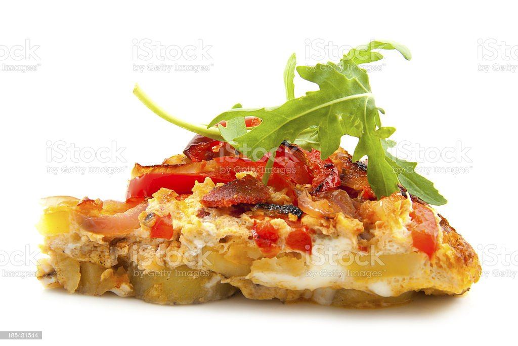 Spicy tortilla royalty-free stock photo