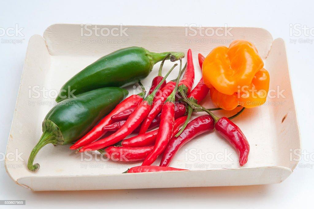 Spicy wicker stock photo