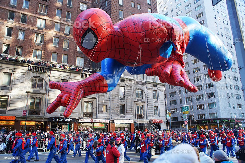 Spiderman Ballon stock photo