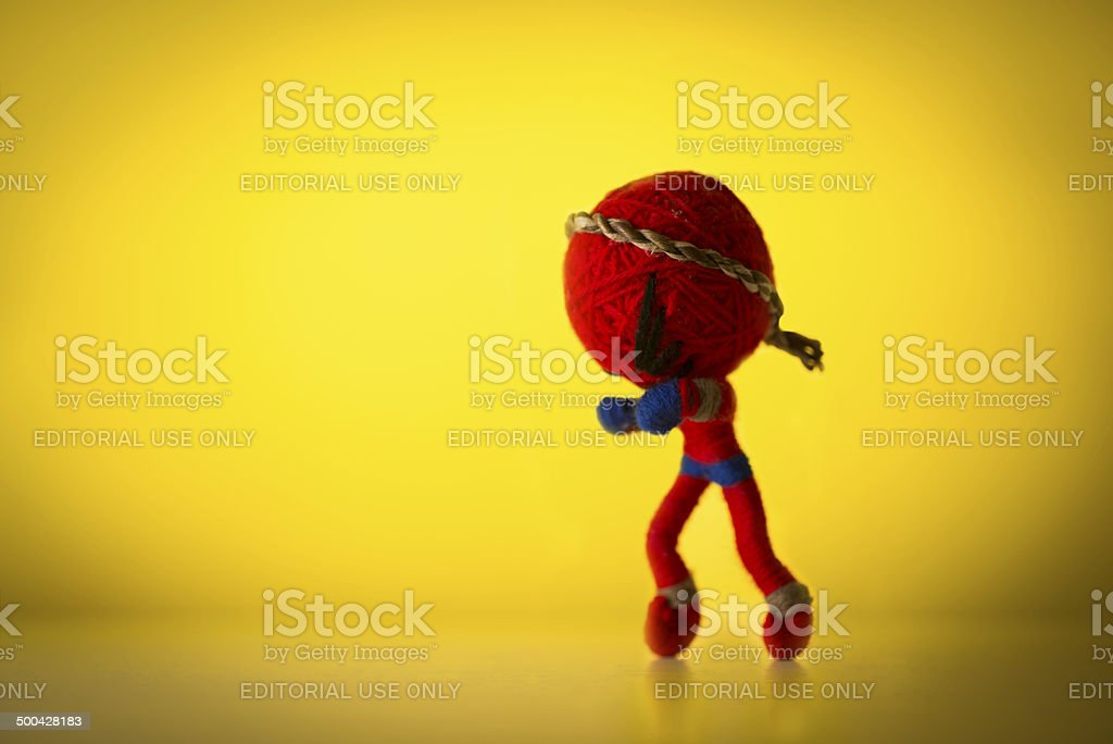 Spiderman Figure stock photo