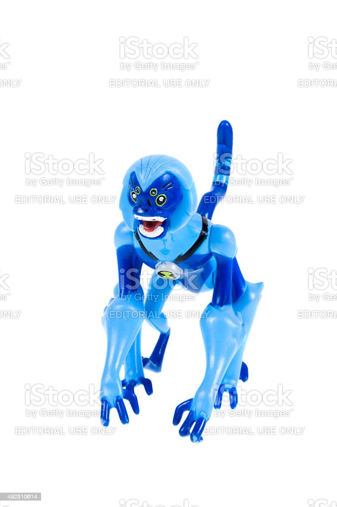 Spidermonkey Ben 10 Action Figure Stock Photo & More Pictures of ...