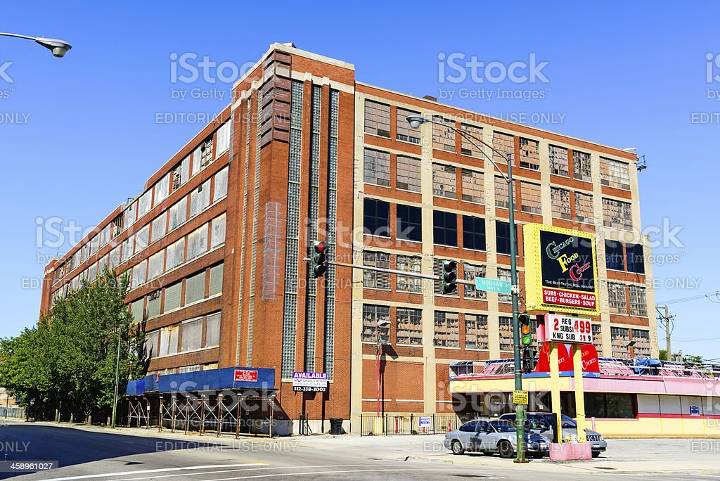 Spiegel Administration Building, Chicago royalty-free stock photo