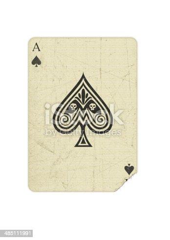Spielkarte, Pik Ass