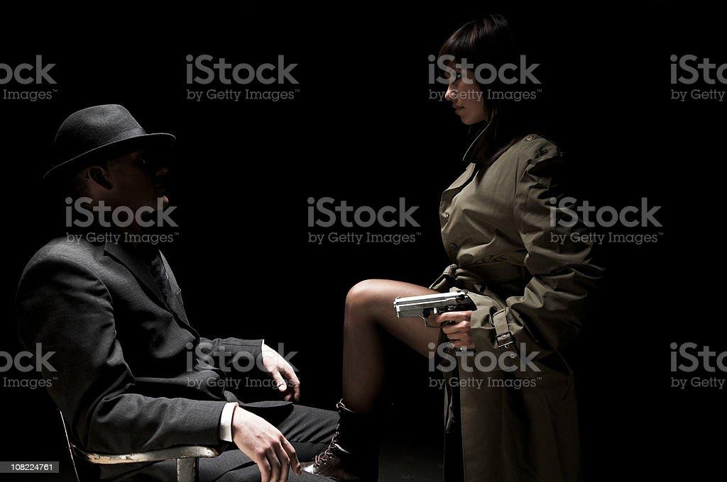 Espions dans le noir series - Photo