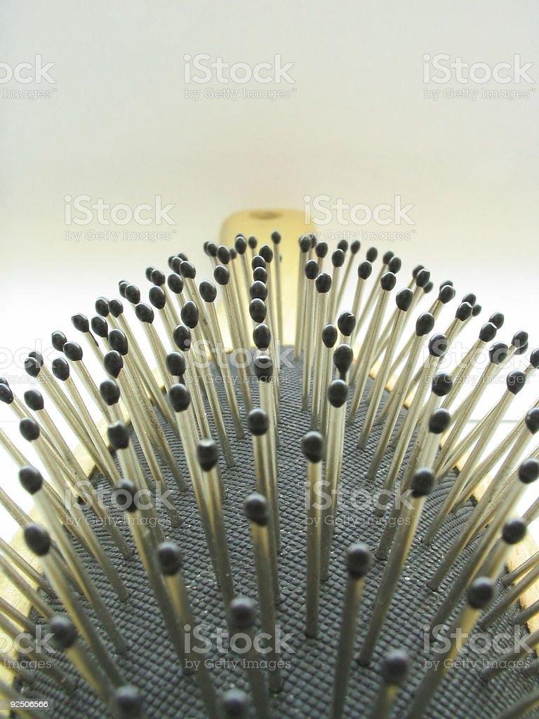 spiky field royalty-free stock photo
