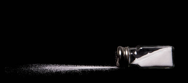 verschüttete Salz – Foto