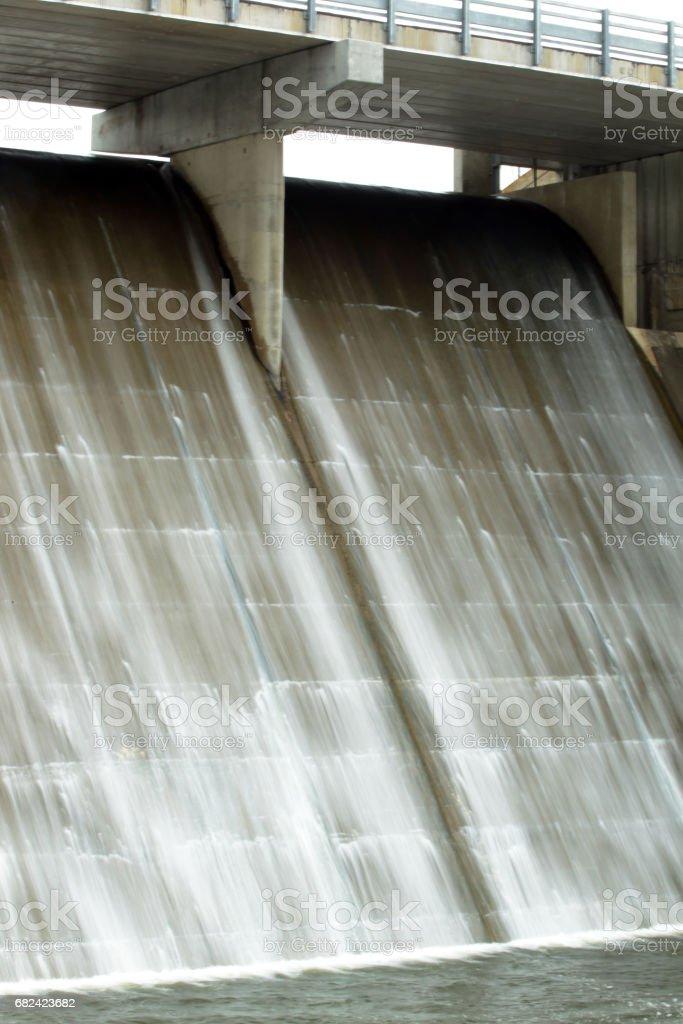 Spillway - Evergreen Lake royalty-free stock photo
