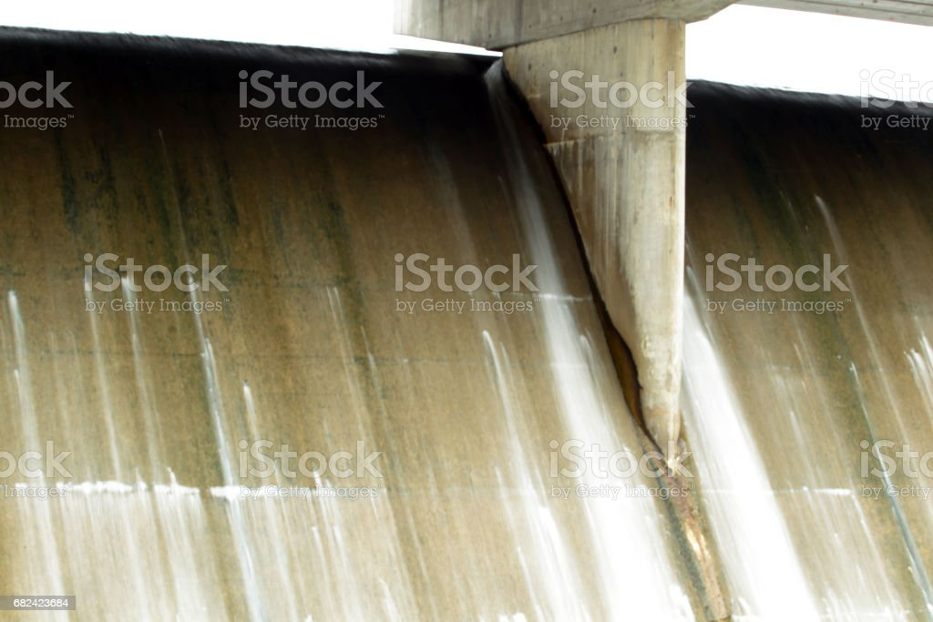 Spillway - Evergreen Lake royalty-free stock photo
