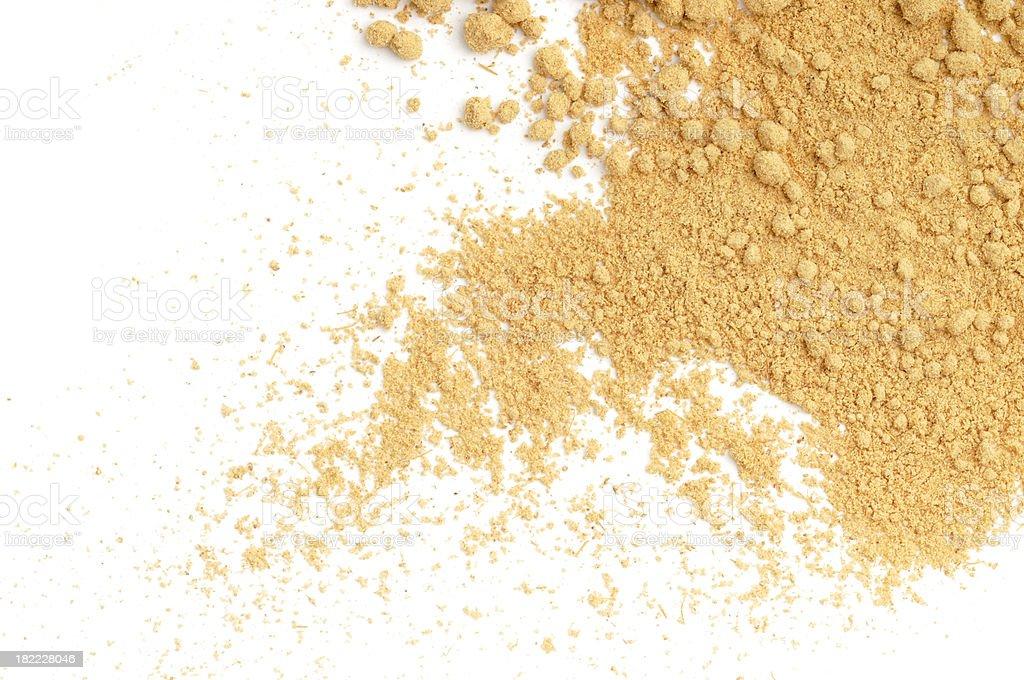Spilt Ginger royalty-free stock photo