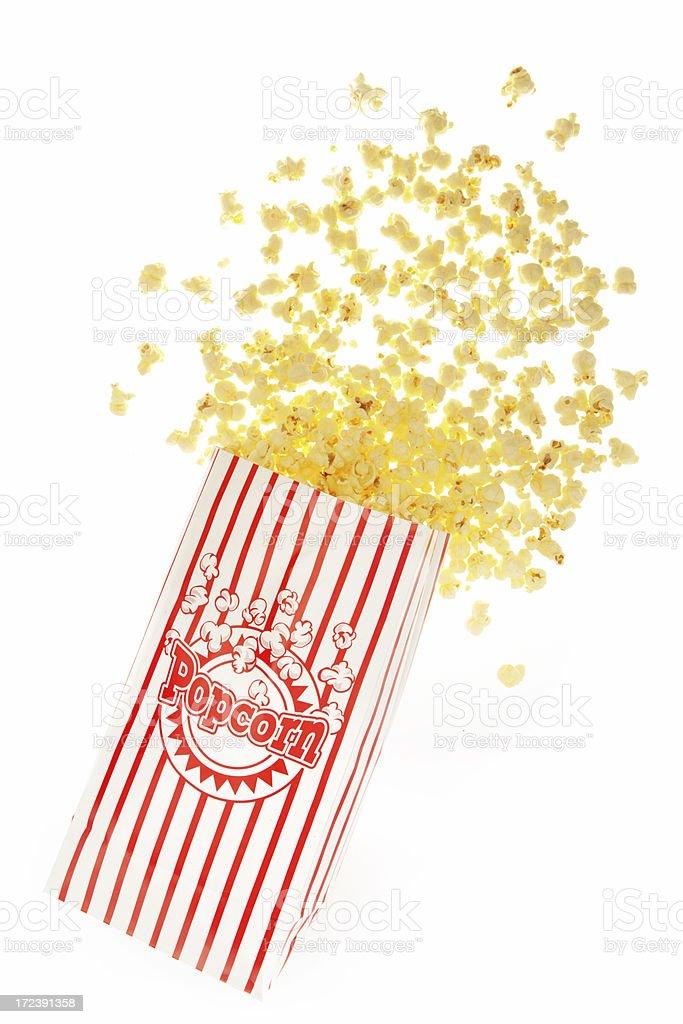 Spilt Popcorn royalty-free stock photo