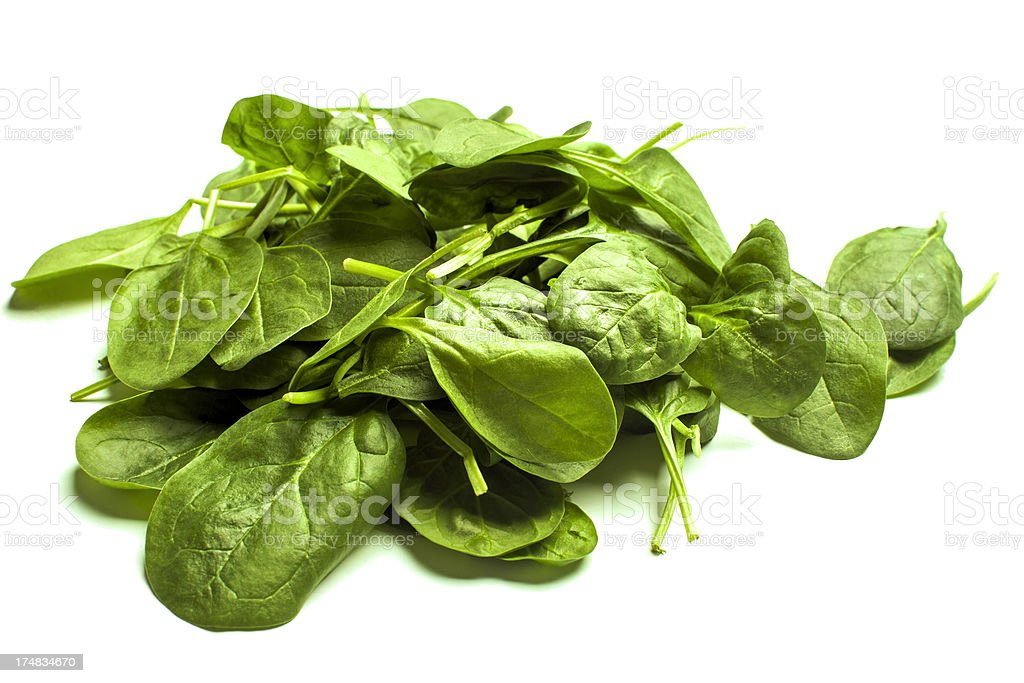 Spinach. royalty-free stock photo