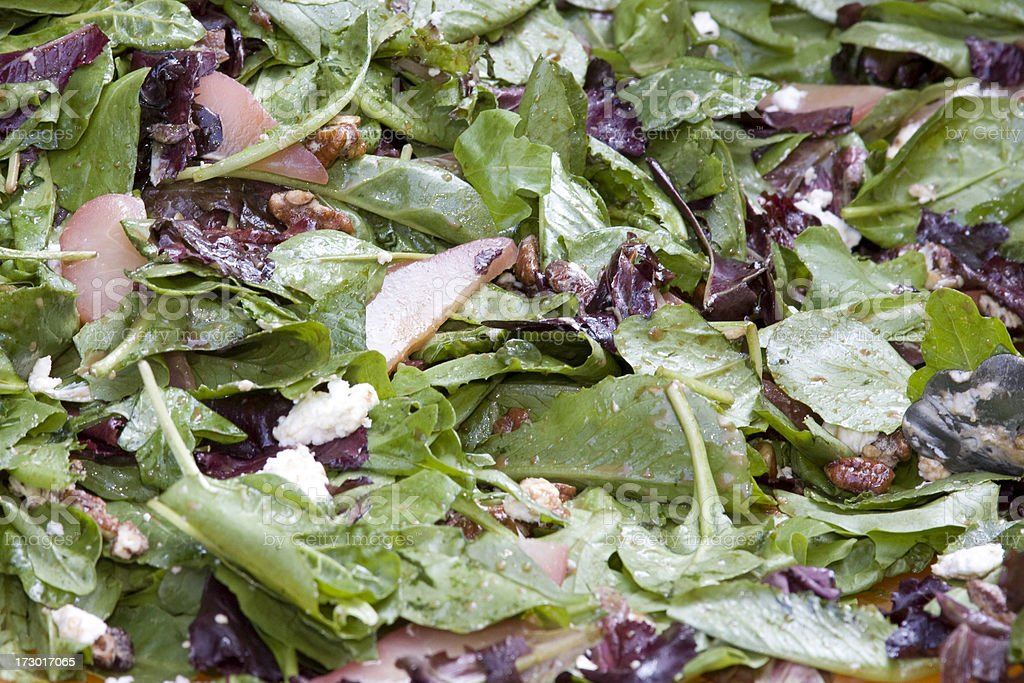 Spinach Salad stock photo