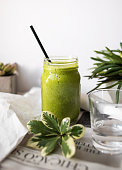 Spinach smoothie  (Click for more)