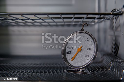 Thermometers for measuring the temperature in the bread oven