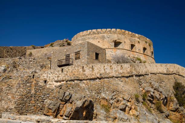 Spinalonga fortress on the island of Crete, Greece. – zdjęcie