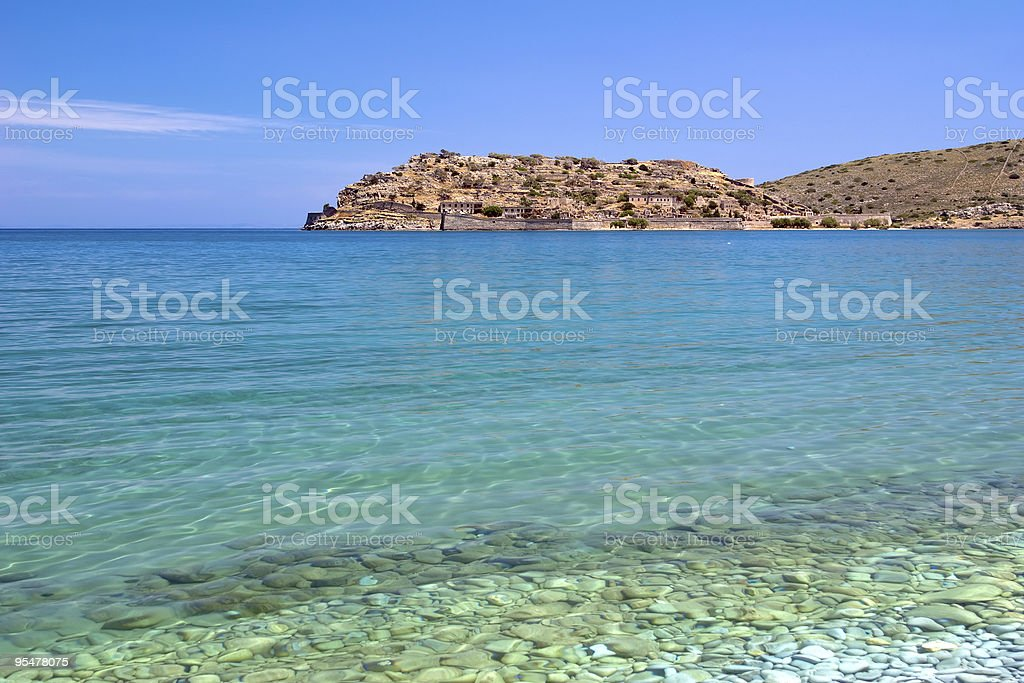 Spinalonga Island royalty-free stock photo