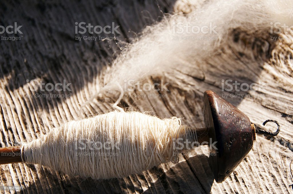 Spindle stock photo