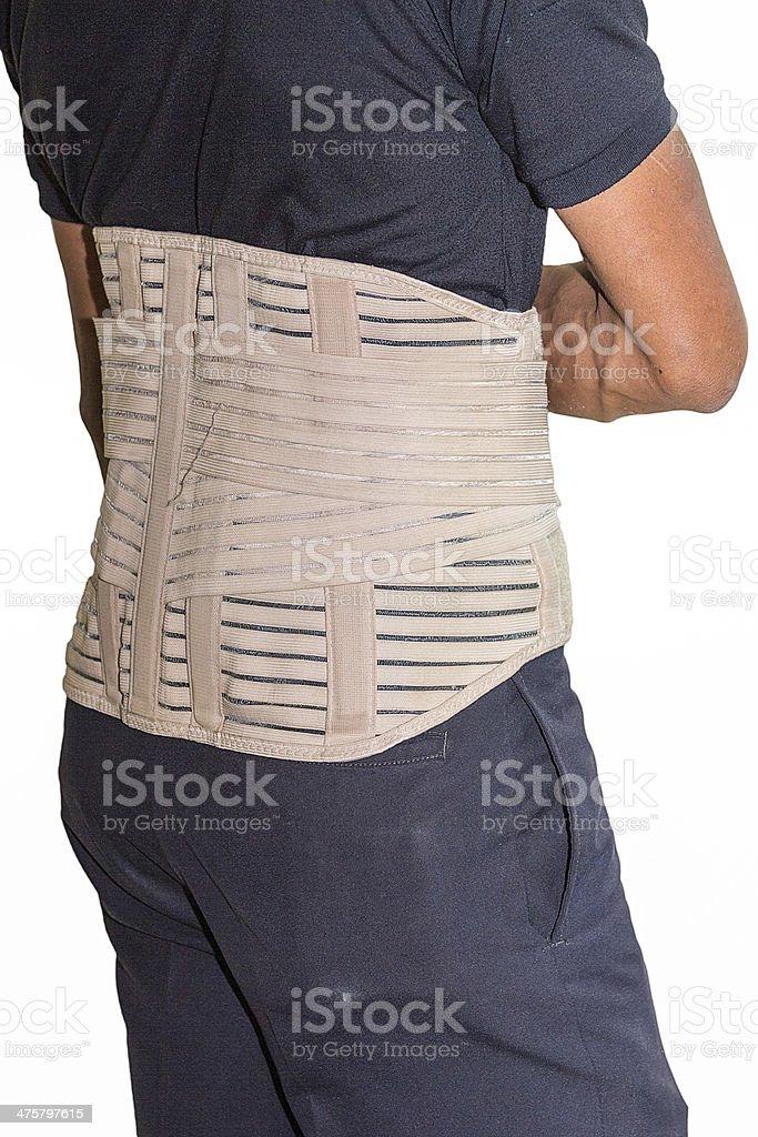 spine splint stock photo