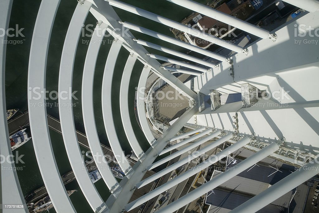 Spinnaker Tower in Portsmouth stock photo