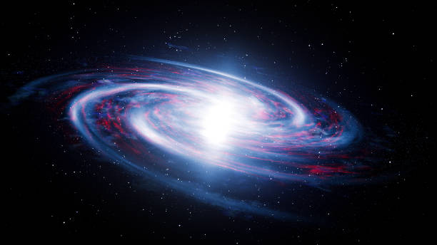 Spinning 3D Galaxy Spinning 3D Galaxy black hole stock pictures, royalty-free photos & images