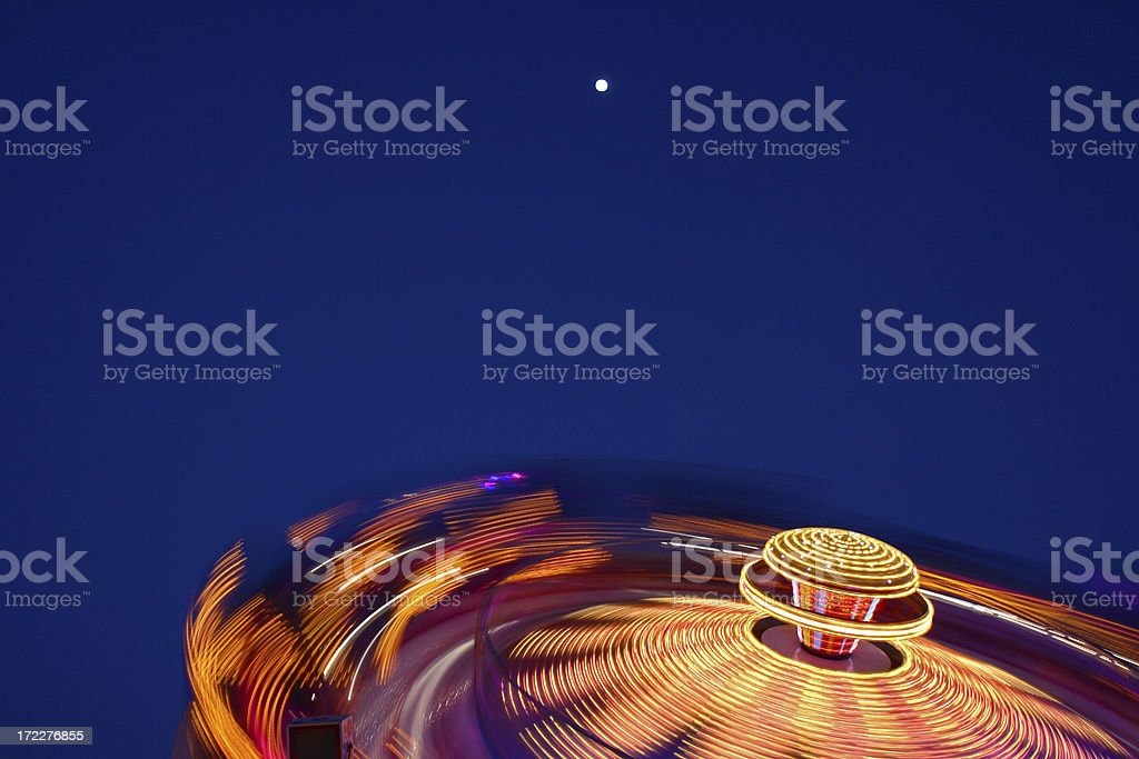 Spinning Fairway Ride - Oktoberfest stock photo