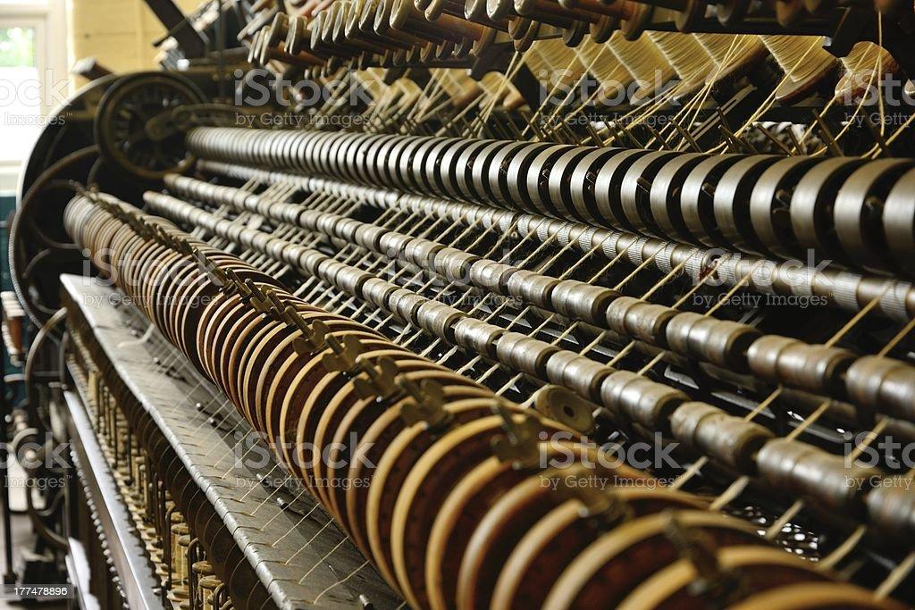 Spinning Machine stock photo