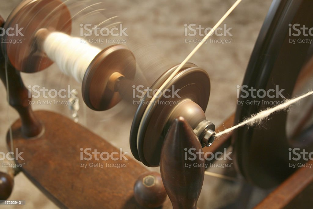 Spinning stock photo