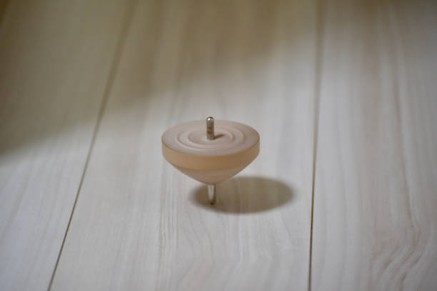 Spinning top Spinning top circumambulation stock pictures, royalty-free photos & images