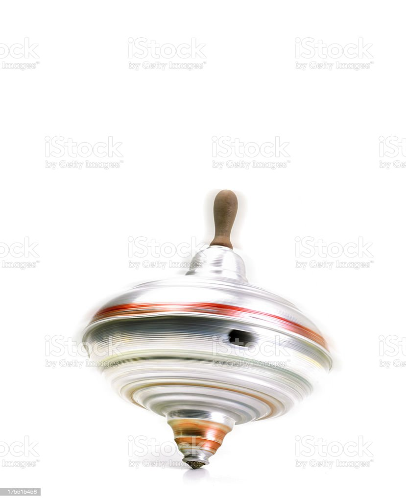 Spinning Top Lizenzfreies stock-foto