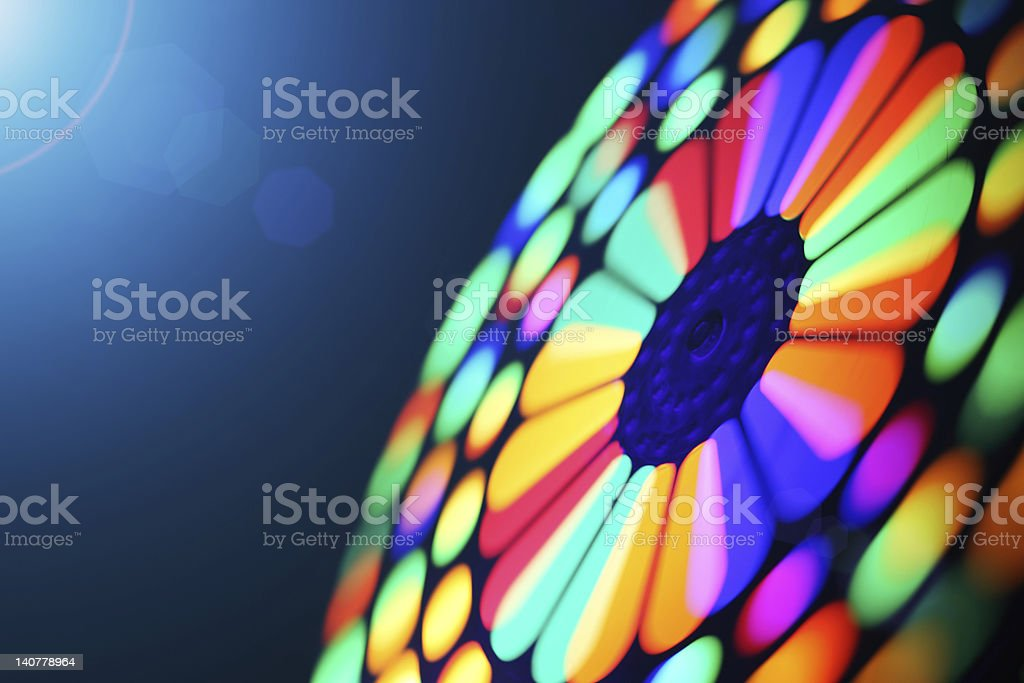Spinning wheel blur stock photo