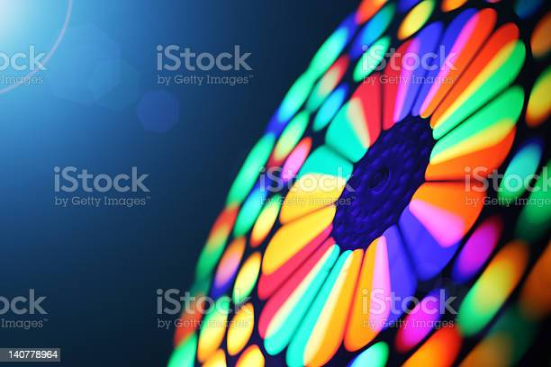 Spinning wheel blur