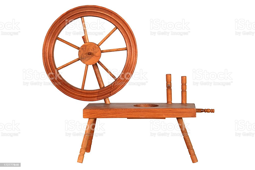 Spinning Wheel royalty-free stock photo