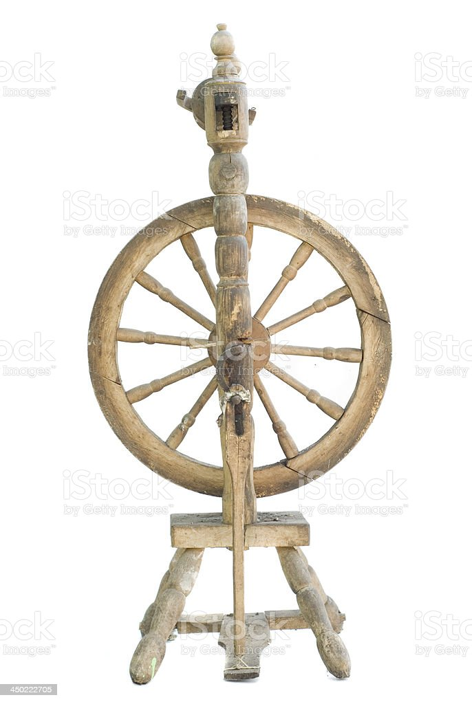 spinning-wheel stock photo