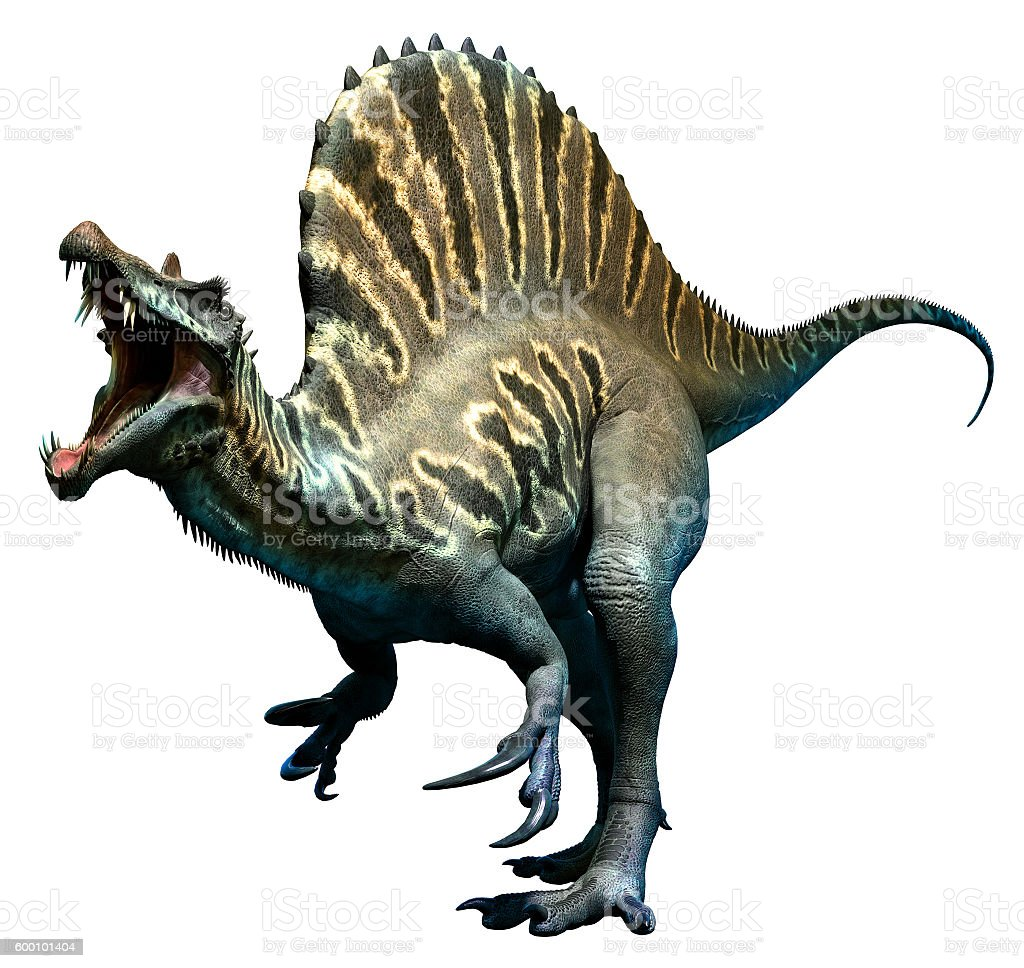 Spinosaurus stock photo