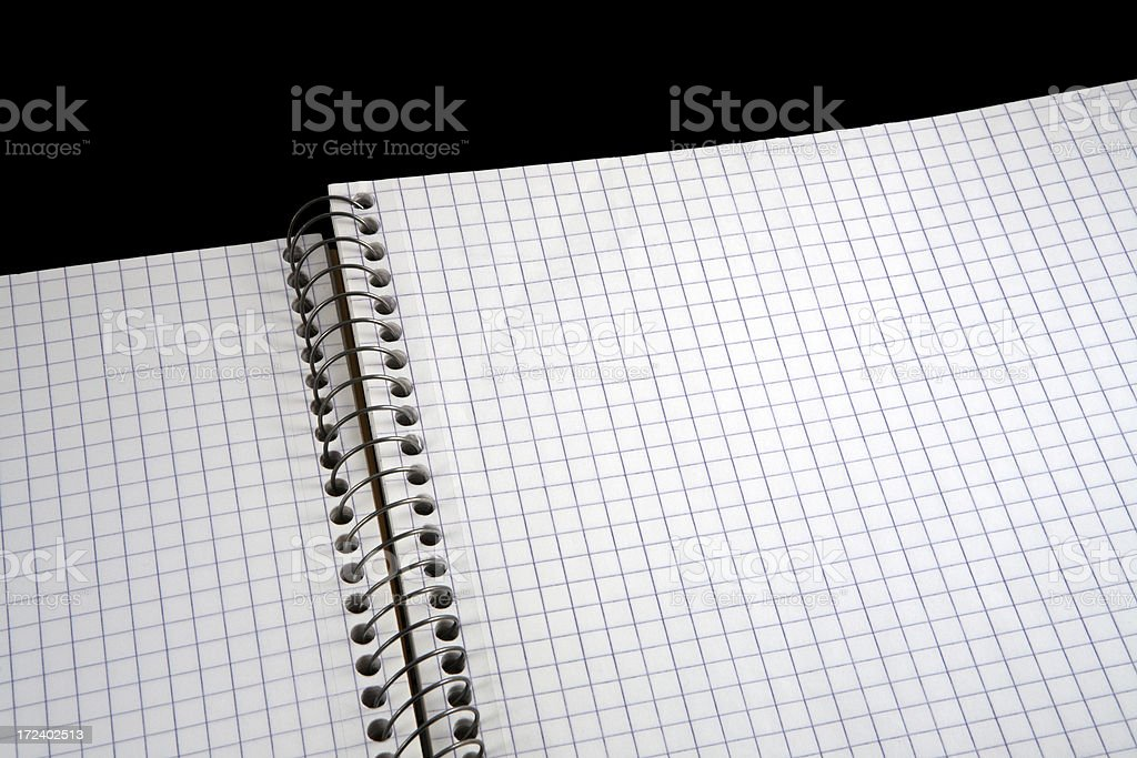 spiral book royalty-free stock photo